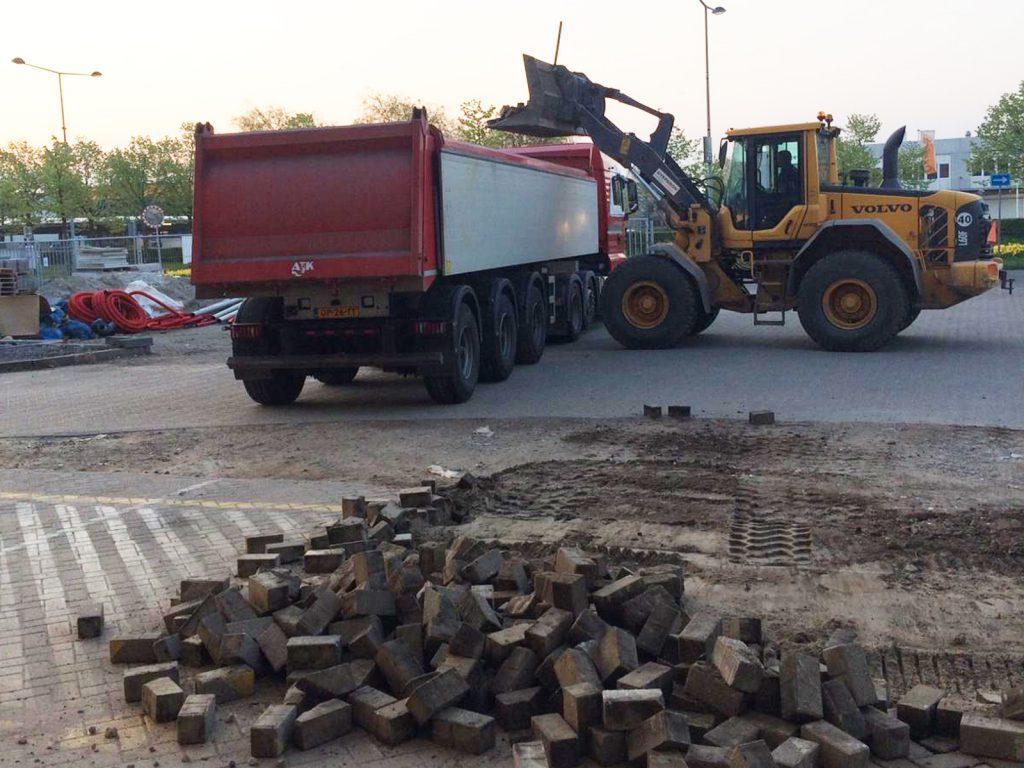 sloopwerkzaamheden Ouwejan & F. De Bruijn